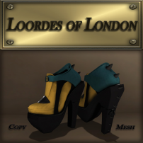 Loordes of London-Soonsara Boot-Mustard&Teal 1