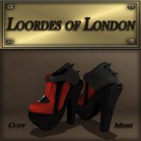 Loordes of London-Soonsara Boot-Persimmon&Black 1