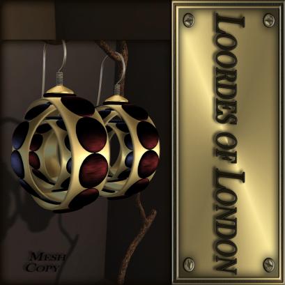 Loordes of London - Chieti Earrings-#31 1 L$50