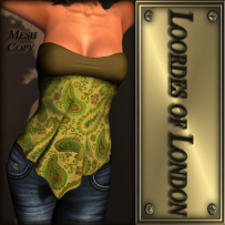 Loordes of London - Turin Bandana-#11 L$60