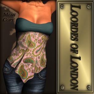 Loordes of London - Turin Bandana-#9 L$60