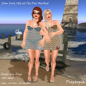 Preptopia - Zesty Zig-Zags 150L each
