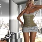 Sky - Sailing dress 100L