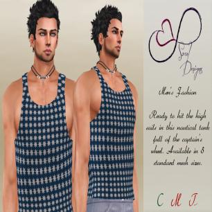 Soul Designs - Davey J tank L$125