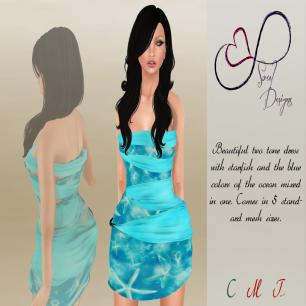Soul Designs - Sailin' Away Dress L$125
