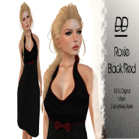 Distorted Dreams - Roxie BlacknRed - L175