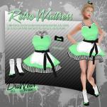 DruWear - Retro Waitress Green - L$125