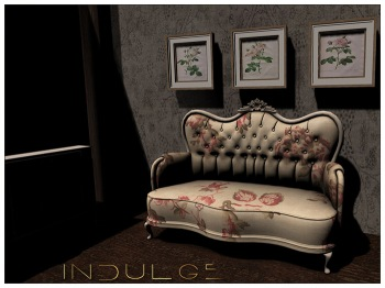Indulge - Courtier Sofa -Vintage - L$329