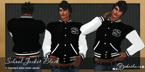 Yobasha - jacket black
