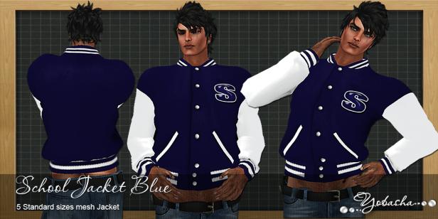 Yobasha - jacket blue