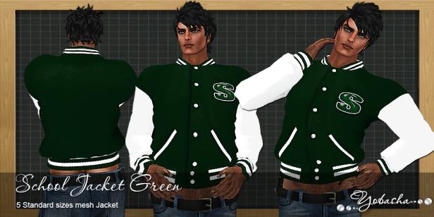 Yobasha - jacket green