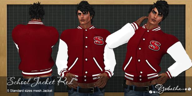 Yobasha - jacket red