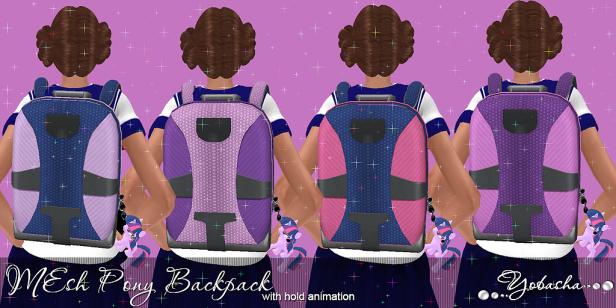 Yobasha - Pony backpack