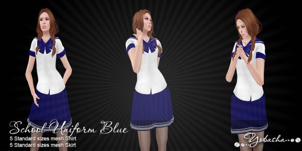 Yobasha - uniform blue