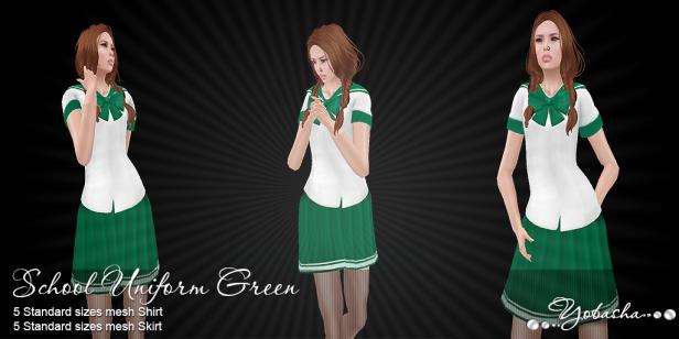 Yobasha - uniform green