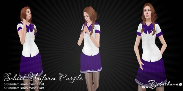 Yobasha - uniform purple