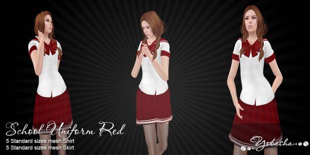Yobasha - uniform red