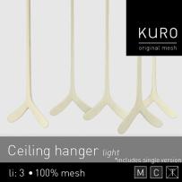 Kuro - Ceiling hanger light - L$75