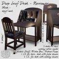 R(S)W Desk - Nevermore - Square L$300