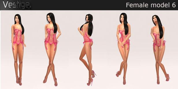 Vestige - Female Model 6 - L$89