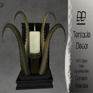 Distorted Dreams - Tentacle Decor - L$100 - 33% off!