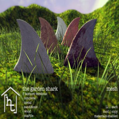 [ht_home] the garden shark - L$99